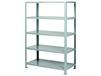 HEAVY-DUTY WELDED STEEL SHELVING